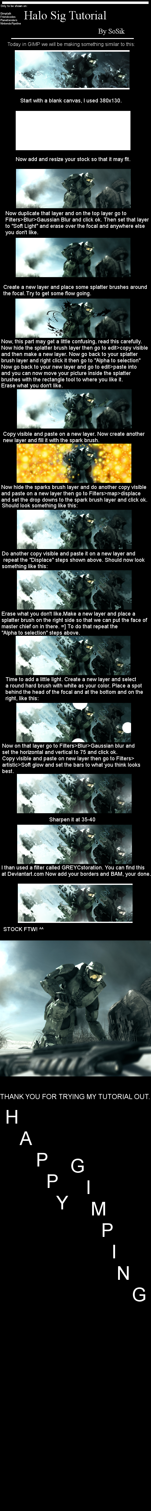 SoSik's Halo Tutorial by So-Sik