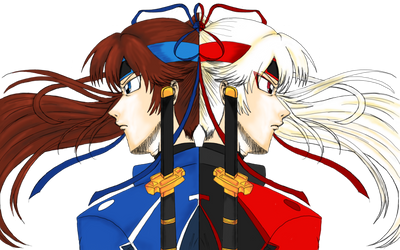 Kazuma and Takuma Twins of Moon by s0ph14luvukn0w