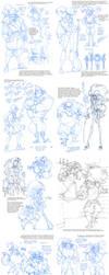 Sketchdump - Santiago's Development by Quarter-Virus