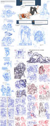 The Ridiculously Large SWTOR Sketchdump by Quarter-Virus