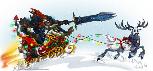 Dashing Through The Snow by Quarter-Virus