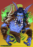 Commission: Zelu'jin by Quarter-Virus