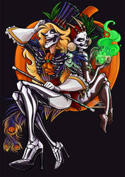 Halloween 2016 -  Louis and Cecilia by Quarter-Virus