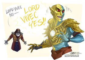 Lord Vivec, No! by Quarter-Virus