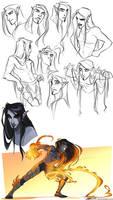 Adana Sketches by Quarter-Virus