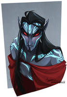Adana, Lord Of Cheekbones by Quarter-Virus