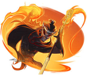 Flame Boi by Quarter-Virus