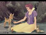 Snow White by ellofunt