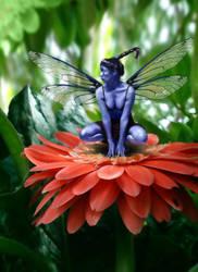 Blue Pixie by michael719
