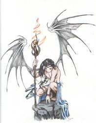 Fire Daemon-WC by athravan