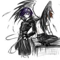 Dark Wings of Those by athravan