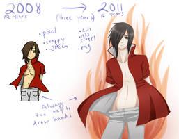 Three Year Difference by KarameruYukika