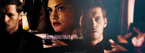 Klaus + Hayley| Timeline cover #01 by Insanitygraphicss