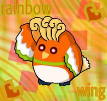 Rainbow Wing by hallieisexposed