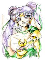 SM: Queen Serenity by bastett