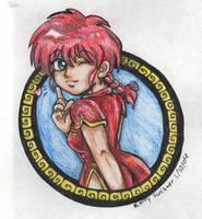 Female Ranma by bastett