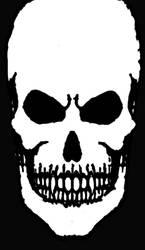 Skull by Lunar-Alienism