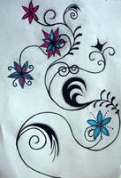 Flower Tattoo by KeiraKeira