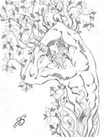 Woodland God Awakening #3 by Dharmajon