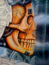 Skull detail by R-L-Frisby