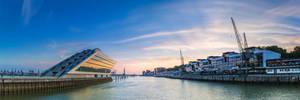 Dockland - Panorama by DanielHeydecke