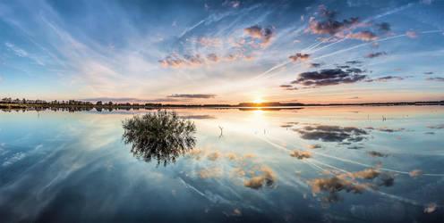 Windstill III - Panorama by DanielHeydecke