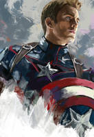 Captain America by marimokry