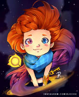 Zoe - League of Legends by rjeeou