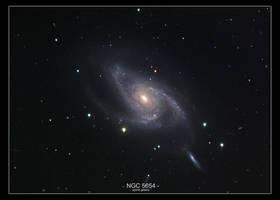 NGC 5054 Spiral Galaxy by MilchstrabeSTern