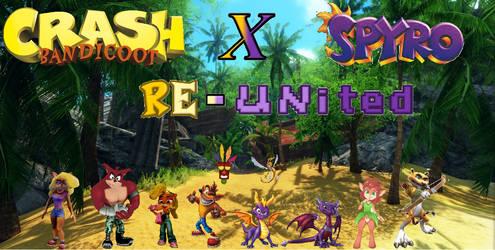 Crash Bandicoot X Spyro Re-United by TriadSentuary
