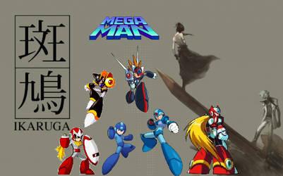Ikaruga X Megaman by TriadSentuary