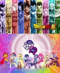 Dragon Ball Super X My Little Pony E.G by TriadSentuary