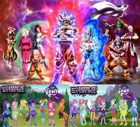 Dragon Ball Super X My Little Pony E.G V2 by TriadSentuary