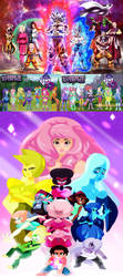 Dragon Ball Super X My Little Pony E.G X S.U by TriadSentuary