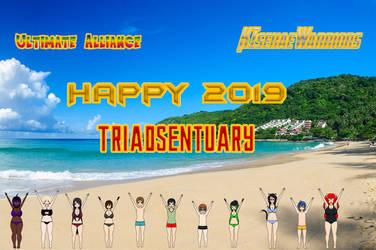 Happy 2019 by TriadSentuary