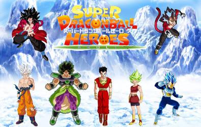 Super Dragon Ball Heroes: Broly by TriadSentuary