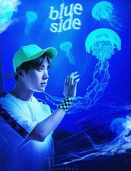 180821 | Hoseok [Blue Side] by lenehope