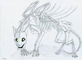 + 13 - Skeledragon + by DorkWolf-Nightmare