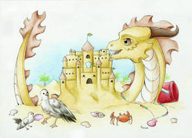 + 21 - The King of The Sand Castle + by DorkWolf-Nightmare