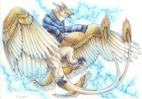 + Ravenclaw - The Thunderbird + by DorkWolf-Nightmare