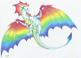 :. Pride Dragons + Gay Pride .: by DorkWolf-Nightmare