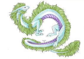 :. Pride Dragons + Genderqueer Pride .: by DorkWolf-Nightmare