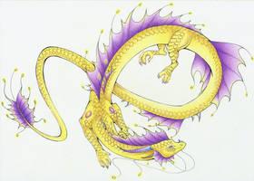 :. Pride Dragons + Intersex Pride .: by DorkWolf-Nightmare
