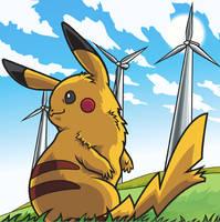 Pikachu by Belldia