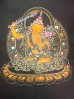 Manjushri by AnhKhoiLe
