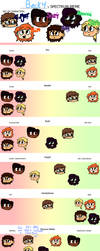 Spectrum of weirdos by OMGEDDSWORLDOVERLOAD