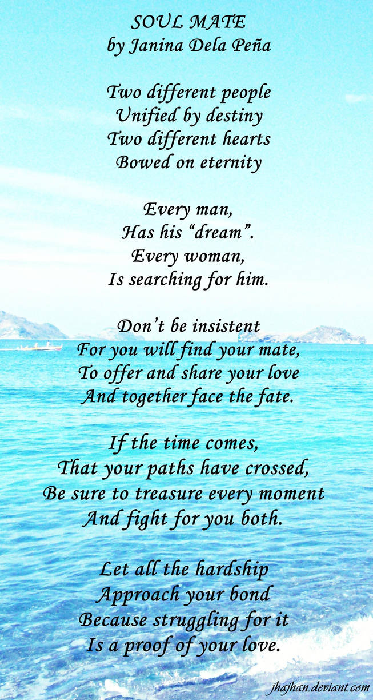 Soulmate Poem By Jhajhan On Deviantart