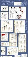 U.K Doodle dump by olafpriol