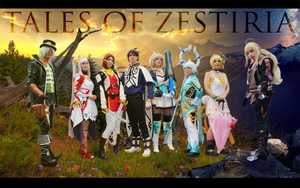 Tales of Zestiria Group by JapoCW
