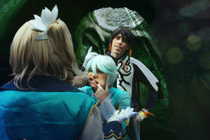 Pretty sure she can't see you, Mikleo! by JapoCW